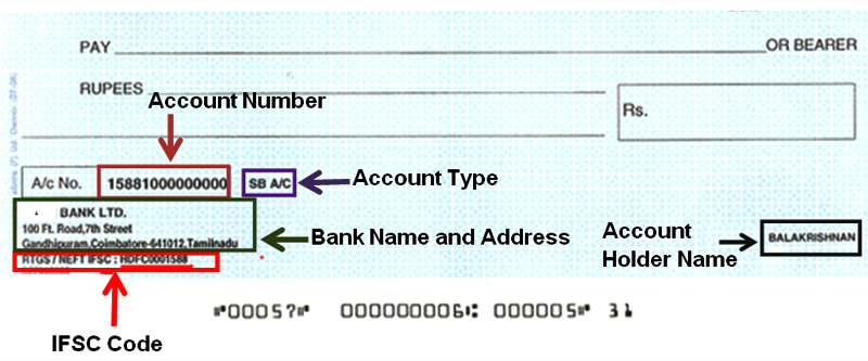 how to write cheque safely